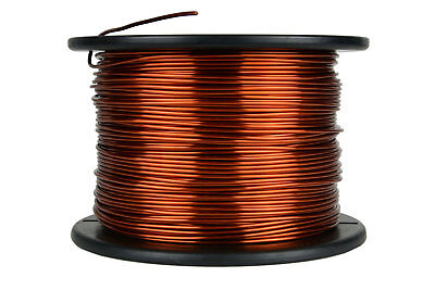 Temco Magnet Wire 13 Awg Gauge Enameled Copper 7.5lb 472ft 200c Coil Winding