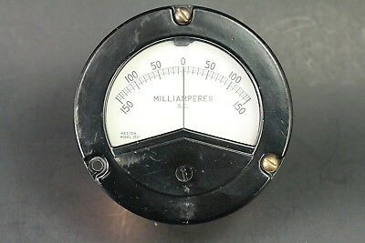 Weston Model 2531 Dc Milliamperes Gauge