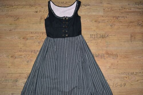 Dirndl dress Bavarian dress Oktoberfest dress Cottagecore dress  Size M