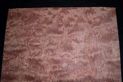 Bubinga Raw Wood Veneer Sheets 15 X 20 Inches Aka African Rosewood C2143-21