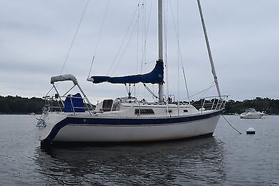 1984 Irwin 31' Citation Sailboat