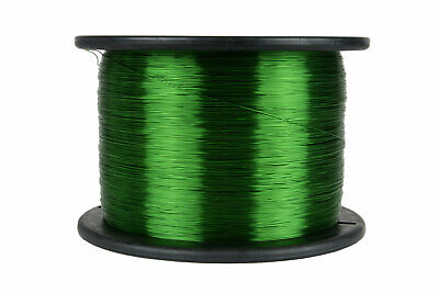 Temco Magnet Wire 26 Awg Gauge Enameled Copper 155c 7.5lb 9435ft Coil Green