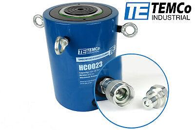 Temco Hc0023 - Hydraulic Cylinder Ram Single Acting 150 Ton 6 Inch Stroke