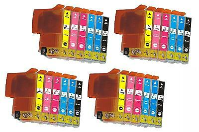24 Non-oem T277 T2771-t2776 Ink Cartridge For Epson Expre...