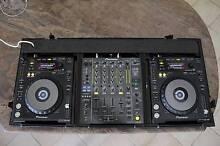 Pioneer DJM-850 & 2 x CDJ-850 in Road Case - Complete Kit Lugarno Hurstville Area Preview