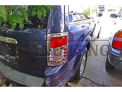 Chrysler Town and Country Dodge Grand Caravan chrome tail light bezel trim