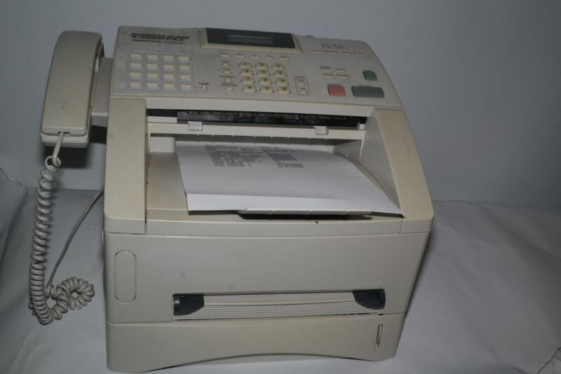 BROTHER FAX4100E INTELLIFAX 4100E PAGE COUNT LESS THAN 3500