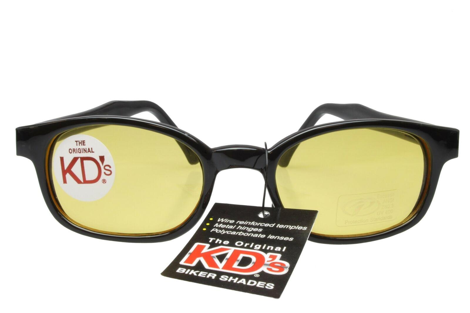 KD/'s Sunglasses Original Biker Shades Motorcycle Tribal Frame Gray Lens 5400
