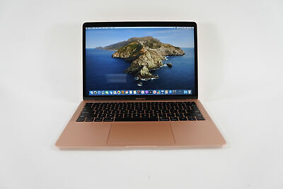 "STELLAR 13"" 2019 Apple MacBook Air 1.6GHz i5 8GB RAM 256GB GOLD + APPLE WARRANTY"