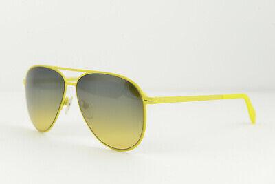 Calvin Klein men/women aviator Sunglasses CK2138S 753 56-13 140 Yellow gradient