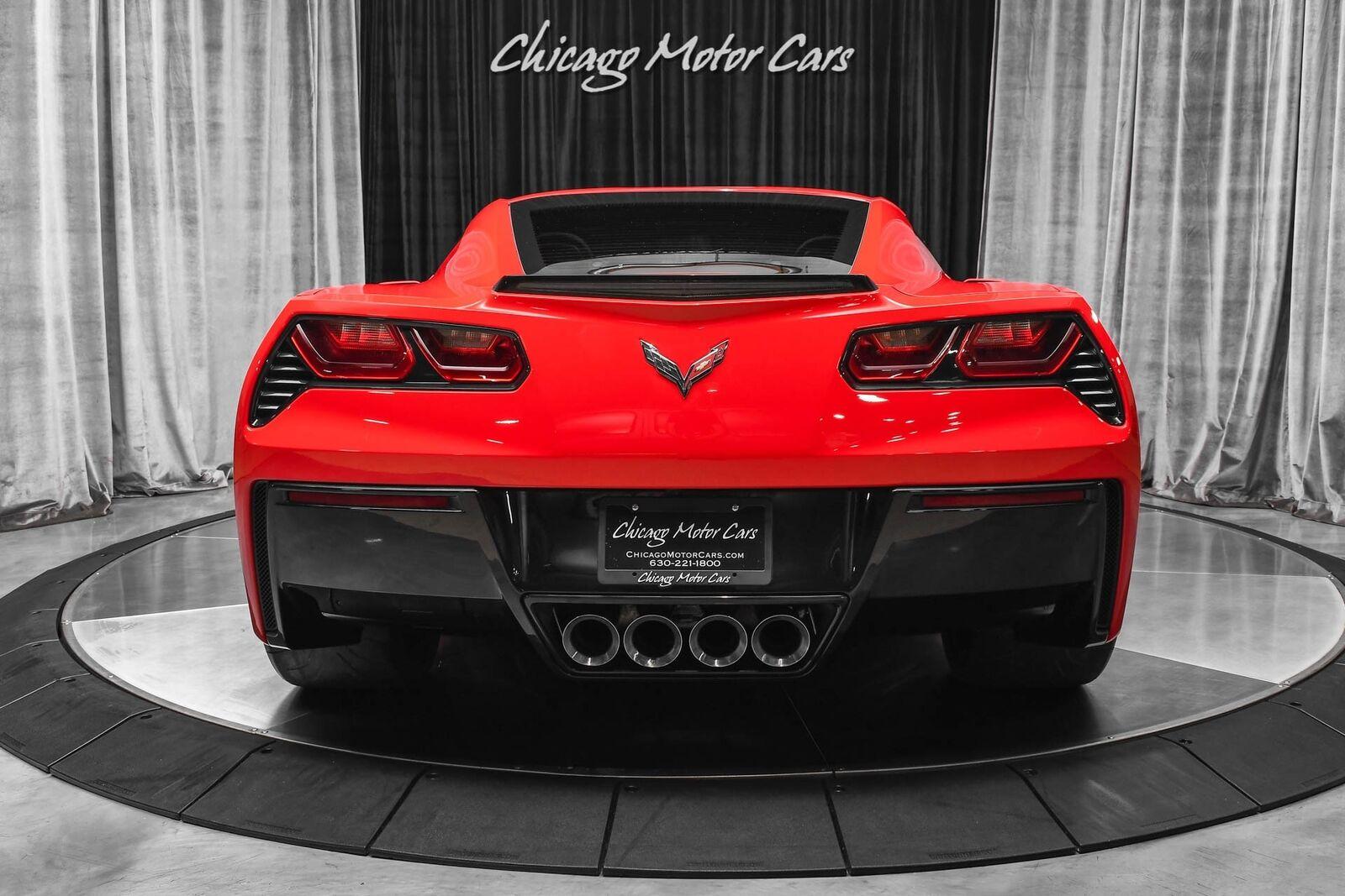 2014 Red Chevrolet Corvette Stingray 2LT | C7 Corvette Photo 4