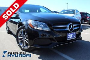 2016 Mercedes-Benz C-Class LEATHER,NAV,PANO SUNROOF & MORE!