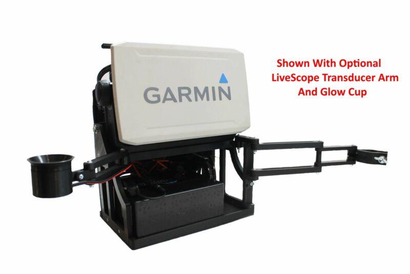 Summit Shuttle for Garmin Livescope, The Ultimate Portable / Ice Fishing Setup