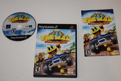 Pac-Man World Rally Playstation 2 PS2 Video Game Complete comprar usado  Enviando para Brazil