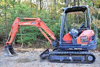 2017 Kubota Kx71-3 Mini Excavator Low Hours