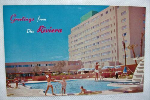 older Riviera Casino Hotel Las Vegas Nevada postcard