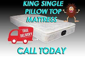 Brand New Pillow Top Mattress – KING SINGLE Size FREE DELIVERY Carrara Gold Coast City Preview