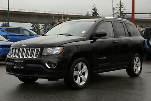 2016 Jeep Compass - LEATHER, SUNROOF, ALLOY WHEELS!