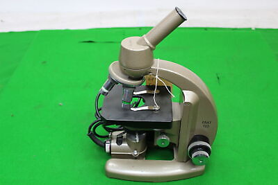 Vickers Instruments Microscope M142 Patent No 877813 In Great Condition W 2 Ob