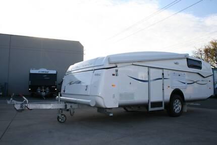 2013 EcoTourer Slipstream Folding Caravan Melrose Park Mitcham Area Preview