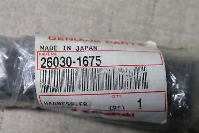 NOS Kawasaki Front Harness OEM 26030-1675 m