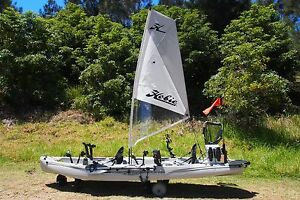 Hobie Outfitter - Fully Rigged Denham Court Campbelltown Area Preview