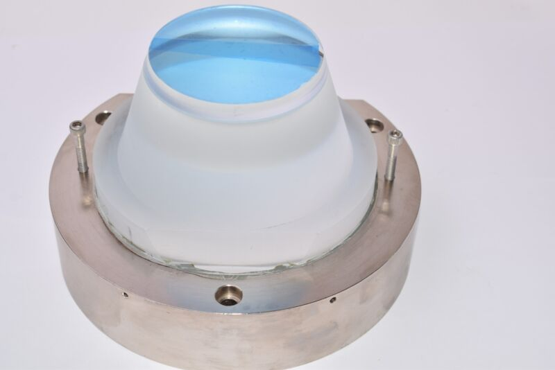 Ultratech Stepper, UTS, Laser Optic Projection Lens Assembly, 7-3/8