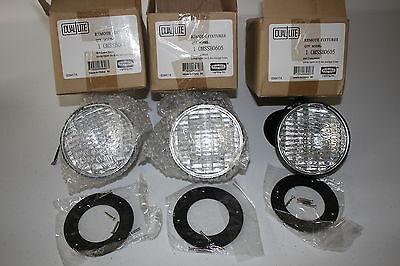 Dual Lite Remote Light Fixtures Black 6v 5.4w 0mssb0605 Hubbell 3-pack