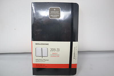 Moleskine Classic 18 Month 2019-2020 Daily Planner Soft Cover Large 5 X
