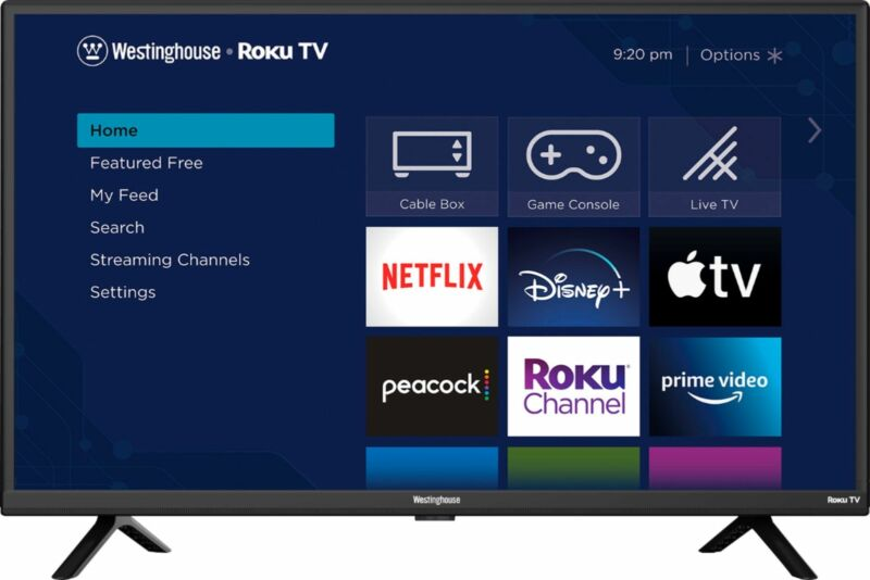 "Westinghouse - 32"" Class HD Smart Roku TV"