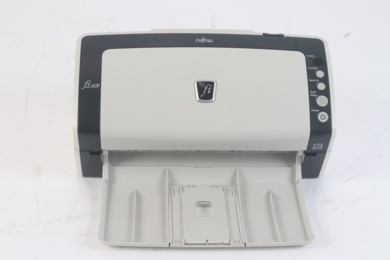 Fujitsu fi-6130 PA03540-B055 Duplex Color Document USB Scanner