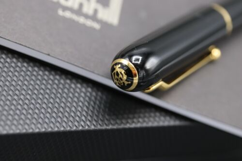 Dunhill Sidecar Black Gold Ballpoint Pen 3