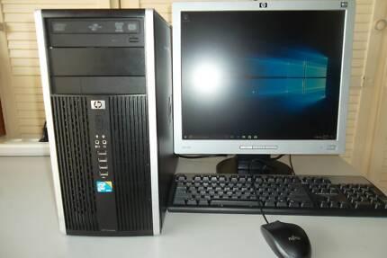 HP PRO 6000 CORE2 DUO 2.93GHZ 4GB RAM 500HD WIN10 PRO +19IN LCD