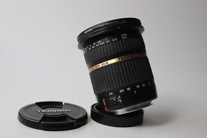 Tamron 10-24mm lens for canon