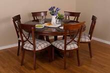 Dining Set – Set of 6 - Classic French Style Furniture Solid Teak Burleigh Heads Gold Coast South Preview