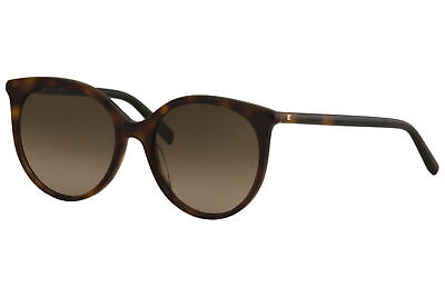 Max Mara Women's Tube-II 581HA Havana/Black Fashion Round Sunglasses (Max Mara Round Sunglasses)