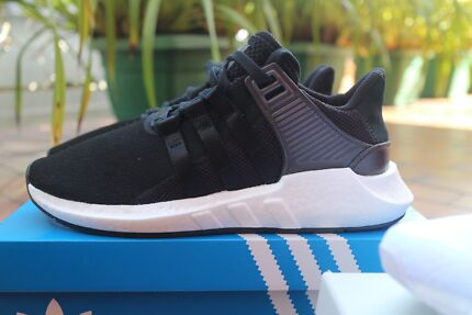 adidas EQT Support 93/17 Milled Leather Black US9