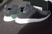 Brand New Adidas NMD R2 grey/green size 8.5 wmns Melbourne CBD Melbourne City Preview