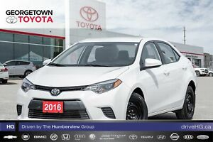 2016 Toyota Corolla LE|BACKUP CAM|HEATED SEATS|BLUETOOTH|A/C
