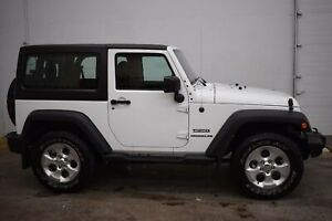 2017 Jeep Wrangler Sport A/C | HARD TOP | LOW KMS