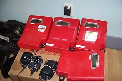 Lot Of 4 Hemocue B-hemoglobin Photometer Testers And Power Supplies Reduced