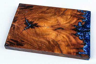 Stabilized Borneo Ironwood Burl Hybrid Exotic Wood Knife Scales, Grips  SCL9177 for sale  Shipping to South Africa