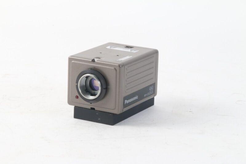 Panasonic WV-CD22 CCTV Black and White Camera With Mount