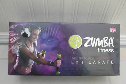 Zumba Fitness Exhilarate 7 DVD Boxed set