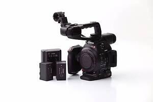 Canon C100 Mark 2 - SmallHD 701 Lite Geelong Geelong City Preview