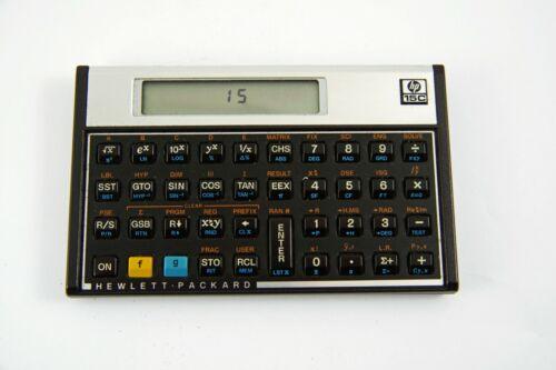 Hewlett Packard HP15C Scientific Calculator