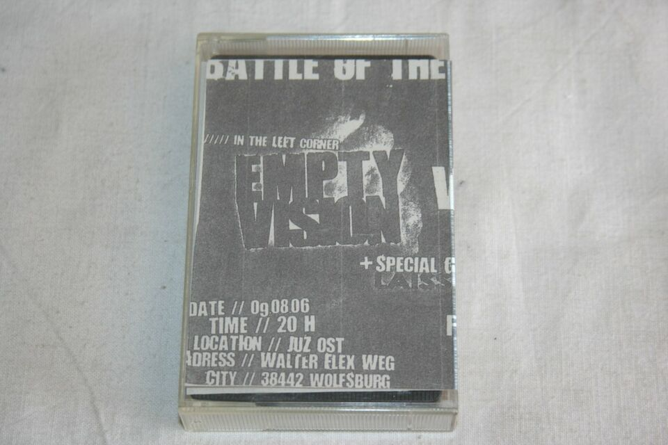 EMPTY VISION / WITH FIRE - LIVE 2006 SXE HC PUNK GRACE RITUAL AYS in Wolfsburg