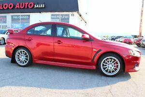 2010 Mitsubishi Lancer Evolution Evolution GSR 5 SPEED MANUAL CE