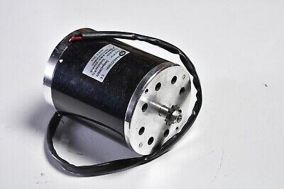 20 Used 800w 36v Dc Sprocket Unite Electric Motor F Gokart Minibike Zy1020