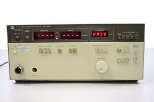 Hewlett Packard HP Agilent 4193A Vector Impedance Meter 0.4-110MHz w/ power cord